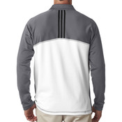 A276 Men's climawarm™+ 3-Stripes Colorblock Quarter-Zip Training Top