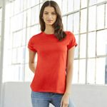 B6400 Missy's Relaxed Jersey Short-Sleeve T-Shirt Thumbnail
