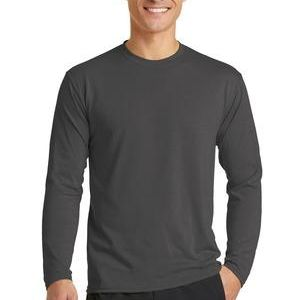 PC381LS Long Sleeve Essential Blended Performance Tee Thumbnail