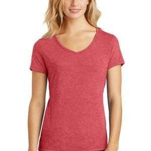 DM1350L Ladies Perfect Tri ® V Neck Tee Thumbnail